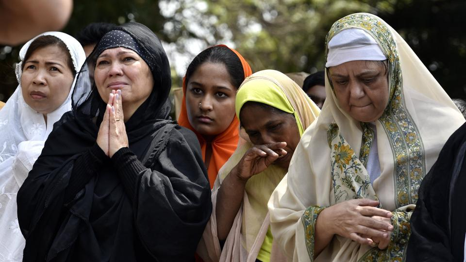 Christians all over  India observe Good Friday as the most sorrowful and sacred day of the year. It is also referred to as Holy Friday, Great Friday, Black Friday, or Easter Friday. (Arijit Sen/HT Photo)