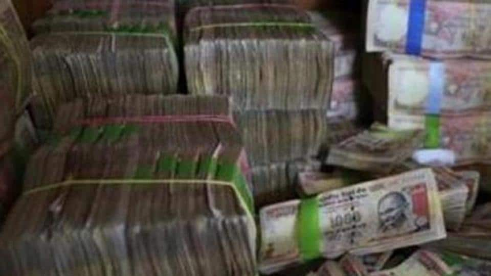 Demonetised banknotes were seized from three places in Assam.