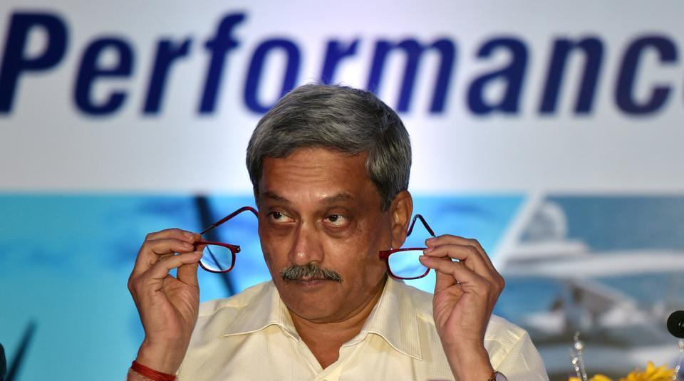 Defence minister Manohar Parrikar,Goa CM Manohar Parrikar,Manohar Parrikar