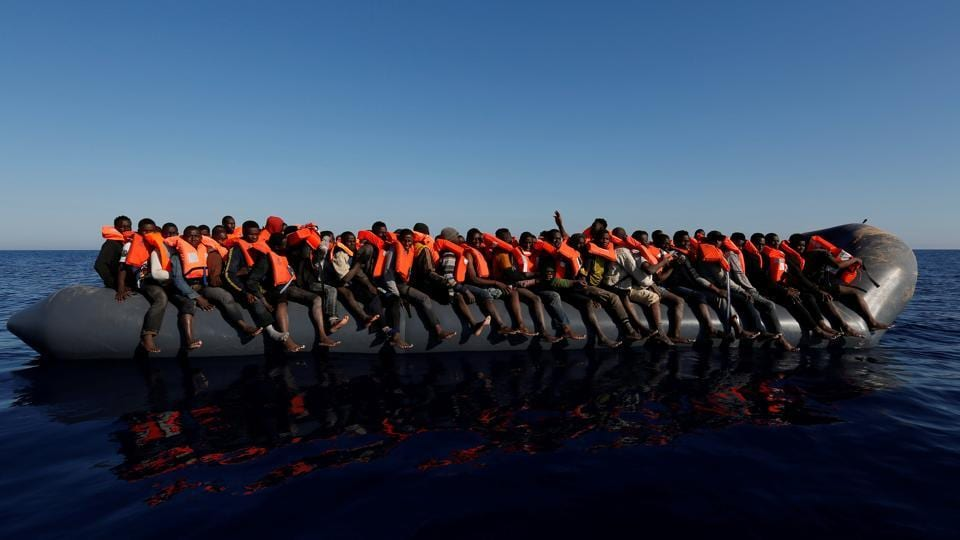 Tens of thousands of migrants, mostly from sub-Saharan African countries, try to reach the shores of Spain and Italy by boat each year. (Darrin Zammit Lupi / Reuters)