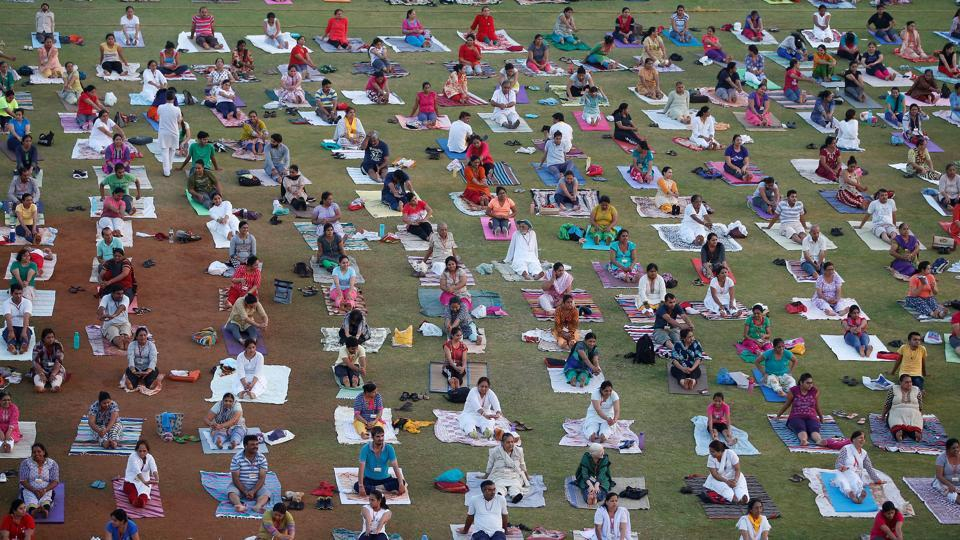 The main programme on Yoga Day would be the mass yoga demonstrations from 7am to 8am.