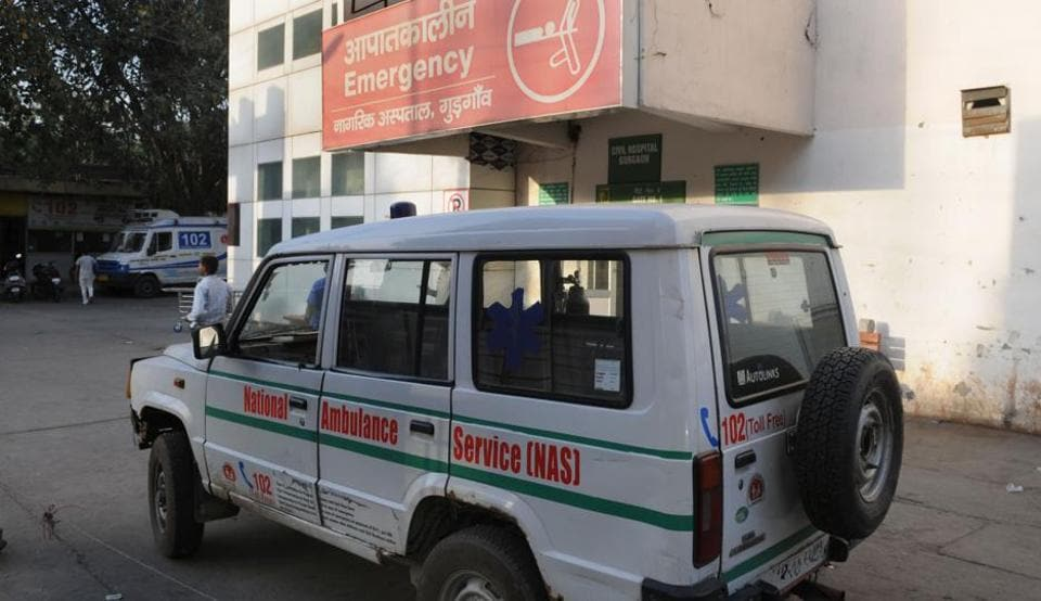 The doctor dealing with the case said there was delay in the ambulance service, but the ambulance unit gives a different version.