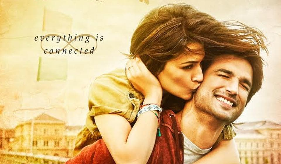 Kriti Sanon and Sushant Singh Rajput on the first look poster of Raabta.