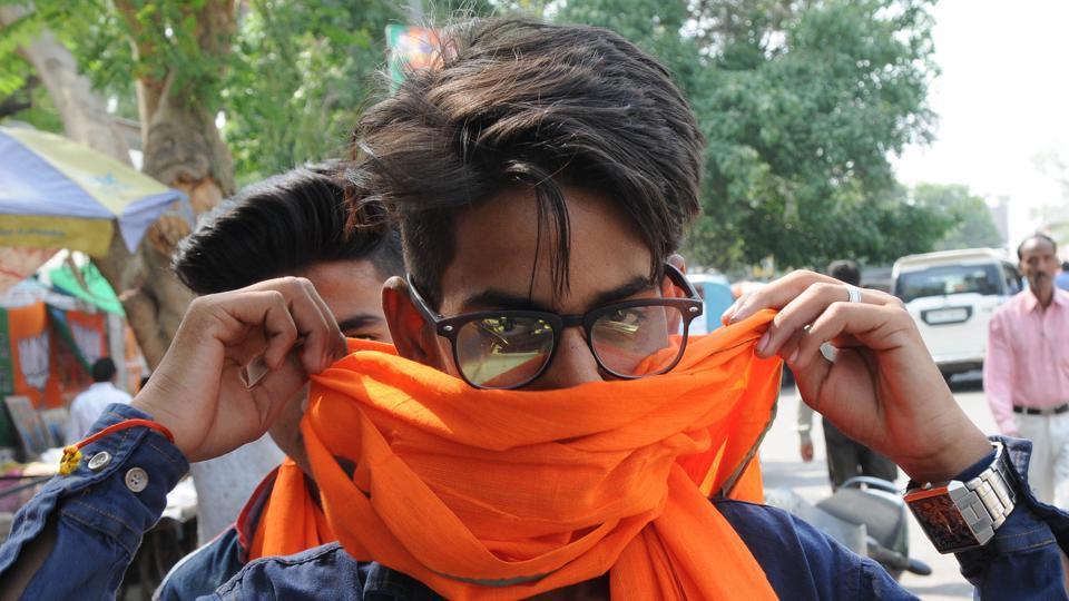 Yogi Adityanath,Bharatiya Janata Party,Saffron-colour attires