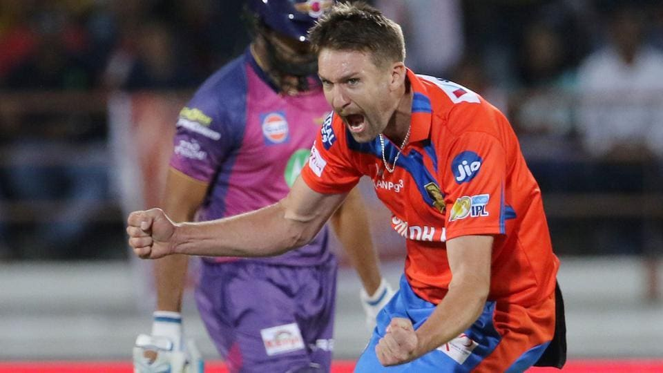 Andrew Tye's hattrick helped Gujarat Lions beat Rising Pune Supergiant  by seven wickets to register their first win in 2017 Indian Premier League.