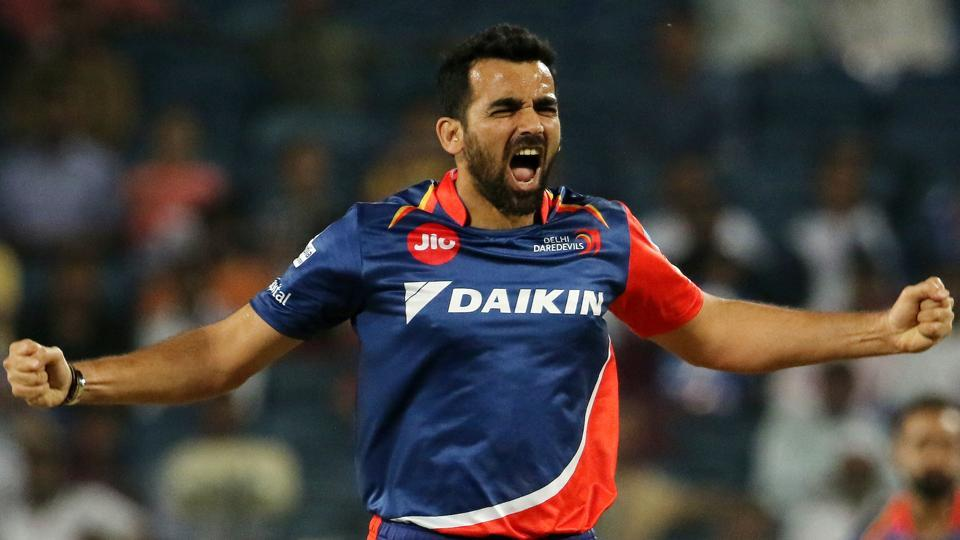 Zaheer Khan leads a formidable bowling attack of Delhi Daredevils, comprising Pat Cummins, Chris Morris, Mohammed Shami, Amit Mishra, Shahbaz Nadeem, M Ashwin and Jayant Yadav. Delhi Daredevils face Kings XI Punjab in the 2017 Indian Premier League in New Delhi on Saturday.