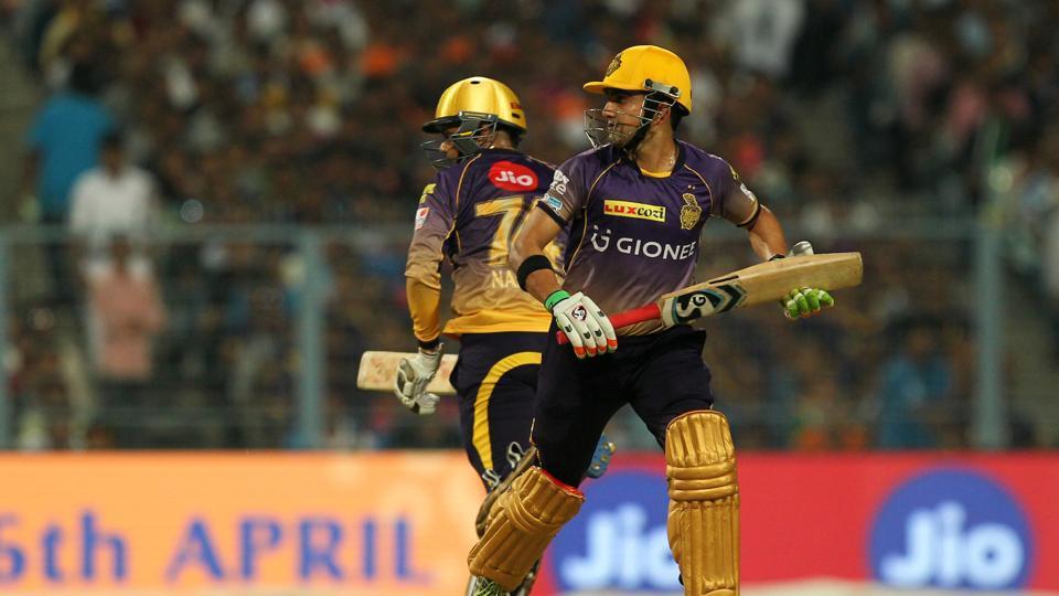 IPL 2017,Gautam Gambhir,Sunil Narine