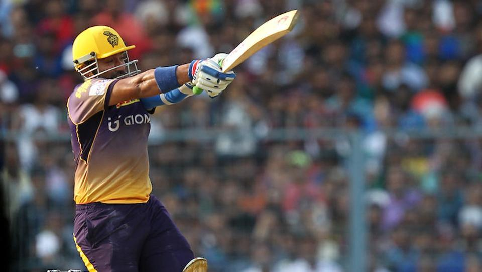 Robin Uthappa then steadied the ship with his calculated strokeplay and brought up his 18th IPL fifty. (bCCI)