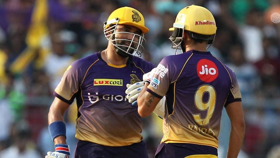 The duo's 77-run stand propelled KKR to 172/6. (bCCI)