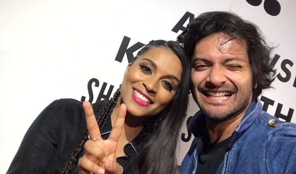 Actor Ali Fazal encouraged comedian Lilly Singh to try her luck in Bollywood.