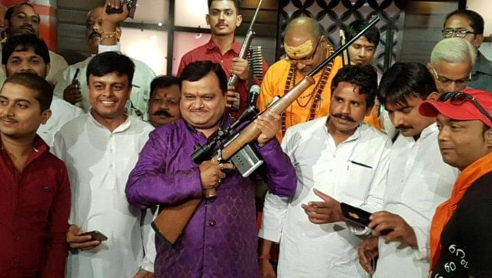 District Magistrate of Sambhal Bhupendra S Chaudhary said Suresh Chavhanke (c) was produced before junior division judicial magistrate, where he was granted bail.