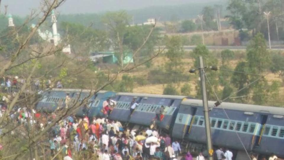 The derailment of the Rajya Rani Express on Saturday was the latest in a string of similar accidents the public transporter has suffered in recent months.