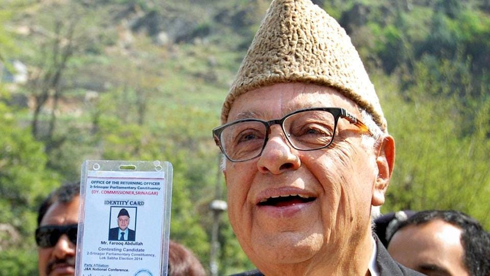 A Bajrang Dal leader announces cash reward for anyone who can cut off  head of former Jammu and Kashmir chief minister