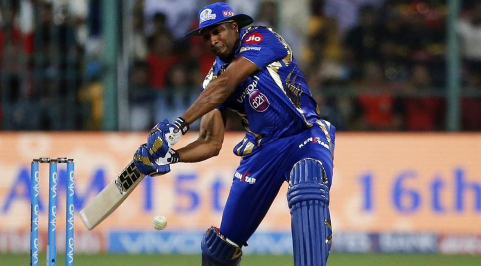 Mumbai Indians' Kieron Pollard scored a match-winning 70 against Royal Challengers Bangalore in an Indian Premier League (IPL) 2017 match.