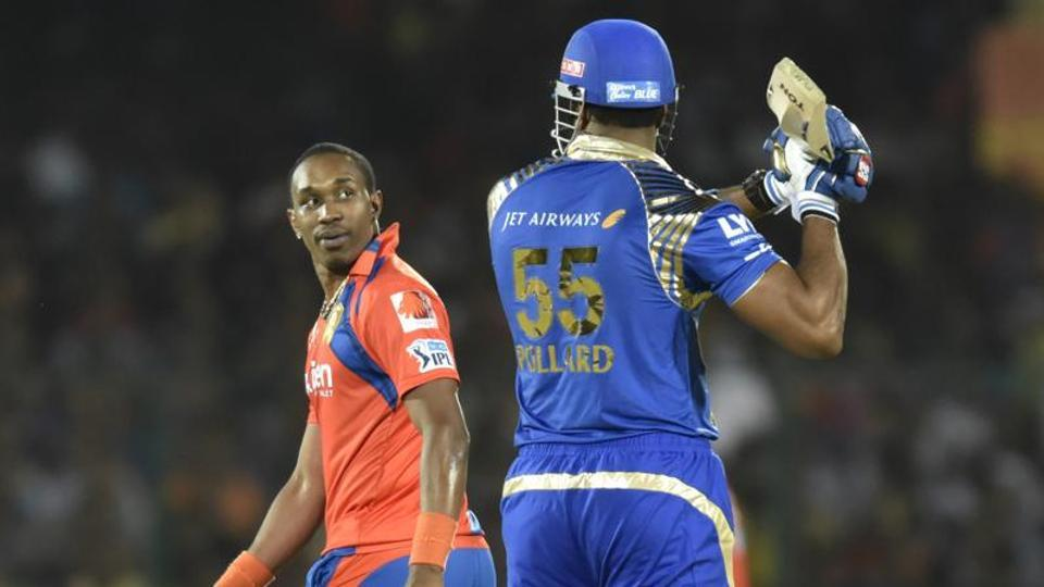 Dwayne Bravo missed the first few games for Gujarat Lions in the Indian Premier League as he continues to recover from a hamstring injury he sustained in the Big Bash League.