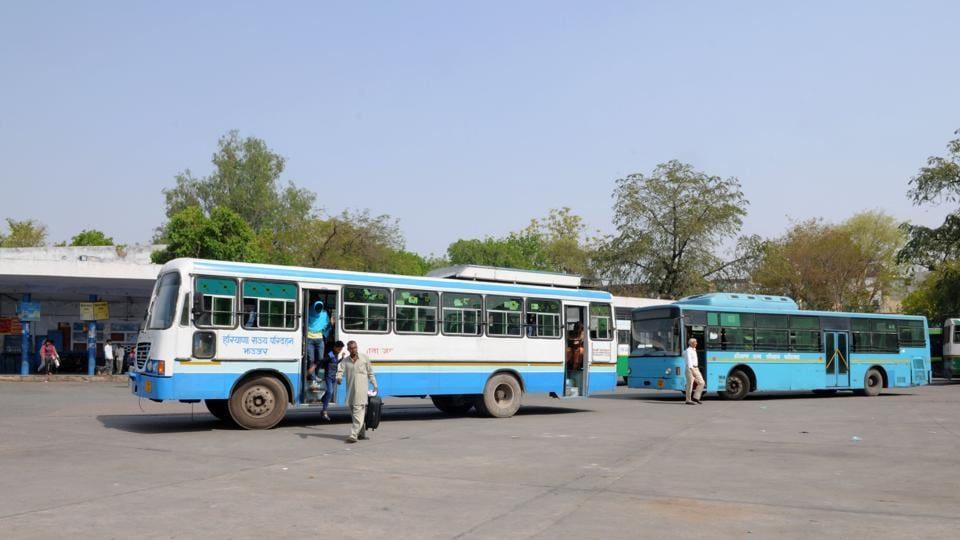 In the absence of Haryana Roadways, many commuters were either travelling to New Delhi in order to take a connecting bus to their destinations or relying on buses of other state transport undertakings.
