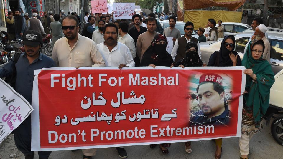 Pakistan,Blasphemy,Student Lynched