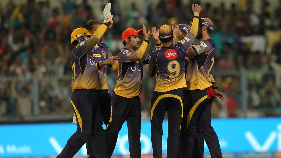 But KKR struck as Chris Woakes removed Yuvraj to end SRH's hopes of sealing their first win at the Eden Gardens. (BCCI)