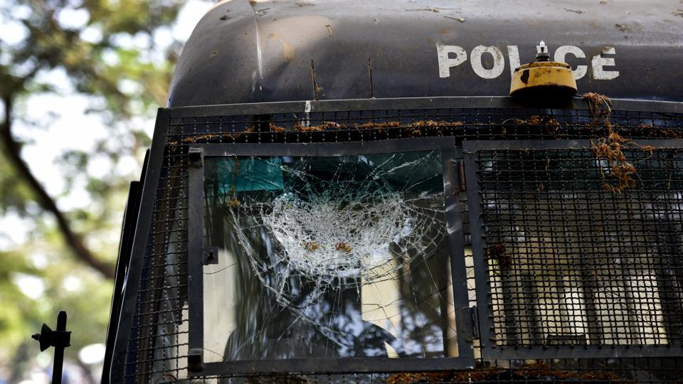 The prison van was carrying two hardcore Maoists from Bhagalpur to Sitamarhi court.