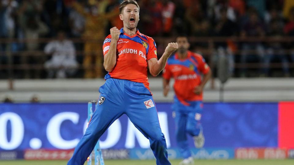 Andrew Tye took five for 17, including a hattrick, to help Gujarat Lions beat Rising Pune Supergiant and register the first win of Indian Premier League (IPL) 2017. (IPL)