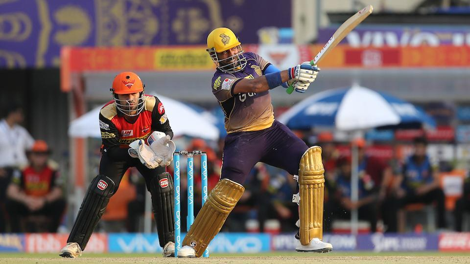 Robin Uthappa's 68 helped Kolkata Knight Riders beat Sunrises Hyderabad in a 2017 Indian Premier League clash at the Eden Gardens. (BCCI)