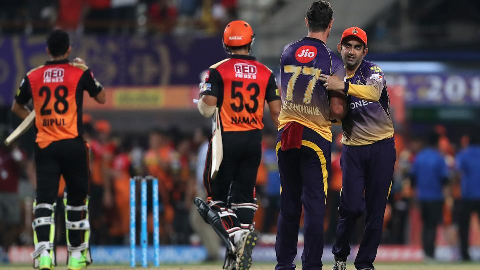 KKR won the game by 17 runs, which proved to be their third win in IPL 2017. (BCCI)