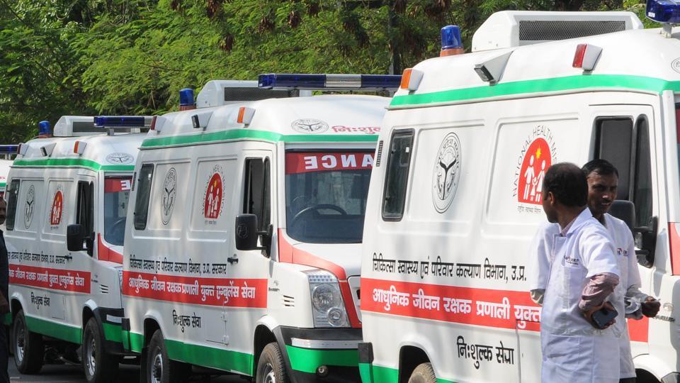 Recently, chief minister Yogi Adityanath flagged off 150 ambulances in Lucknow.