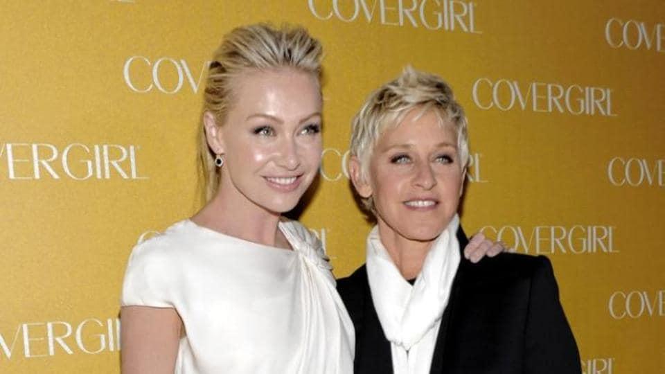 Ellen DeGenres's wife Portia de Rossi slits wrists over marriage ...
