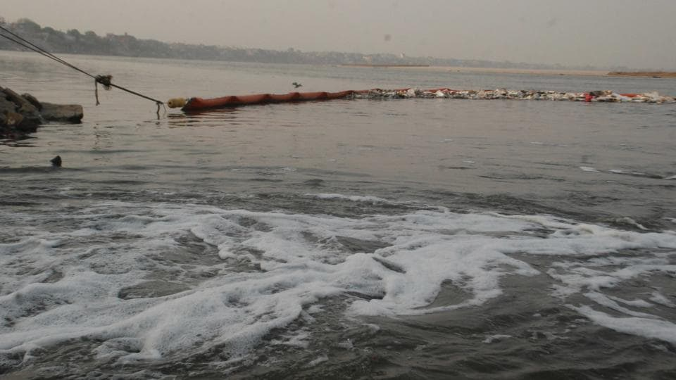 Detergent is a major killer of these algae colonies, which act as river Ganga's purifiers.