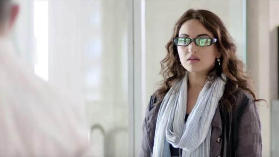 Sonakshi Sinha plays a journalist in Noor.
