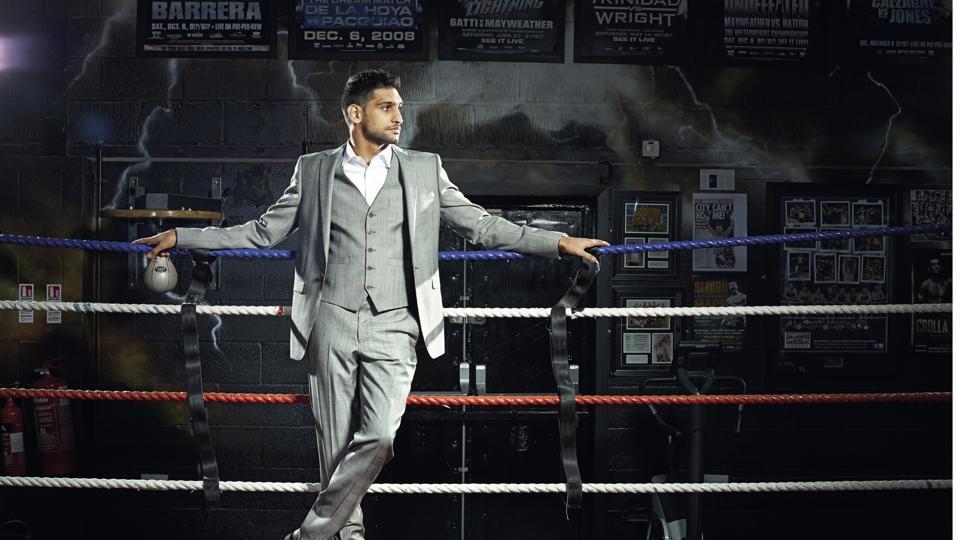 Meet boxing champion Amir Khan, a rock star beyond his profession
