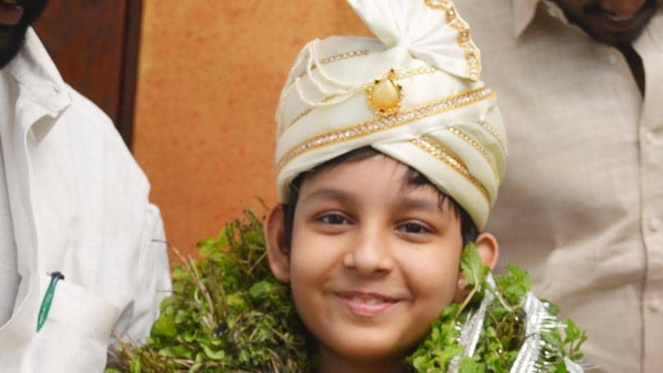 Agastya Jaiswal passes his intermediate examination at 11. His sister Naina did it at 10.