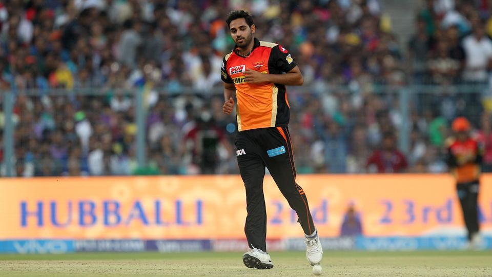 Bhuvneshwar Kumar, one of the stars of Sunrisers Hyderabad's triumphant IPL 2016 campaign, is once again leading the bowling charts in IPL 2017.