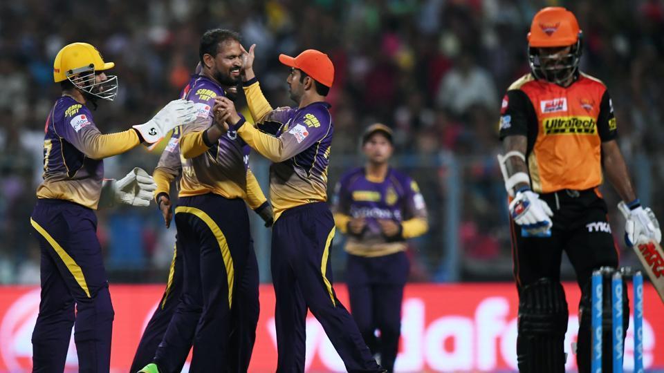 IPL 2017,Sunrisers Hyderabad,Kolkata Knight Riders