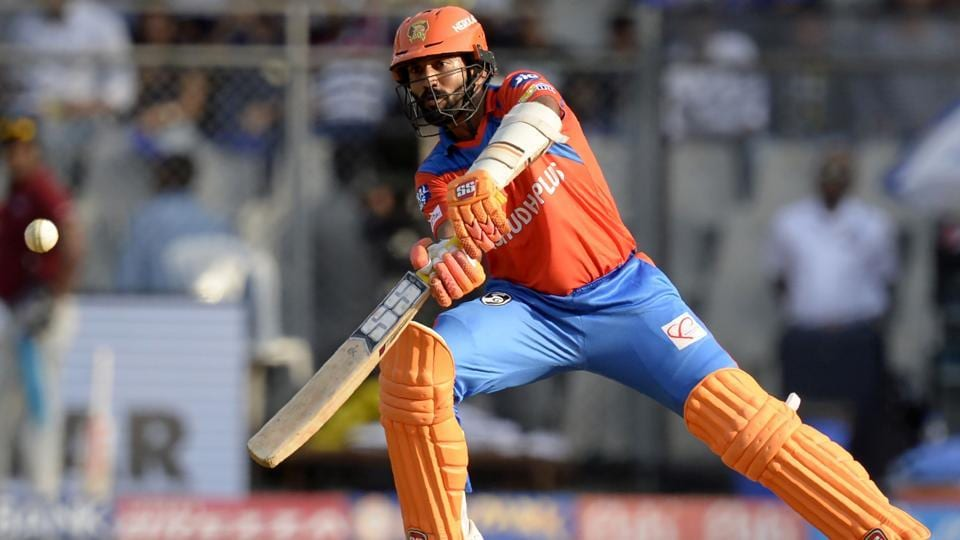 Gujarat Lions cricketer Dinesh Karthik prepares to play a shot during the 2017 Indian Premier League (IPL). (AFP)