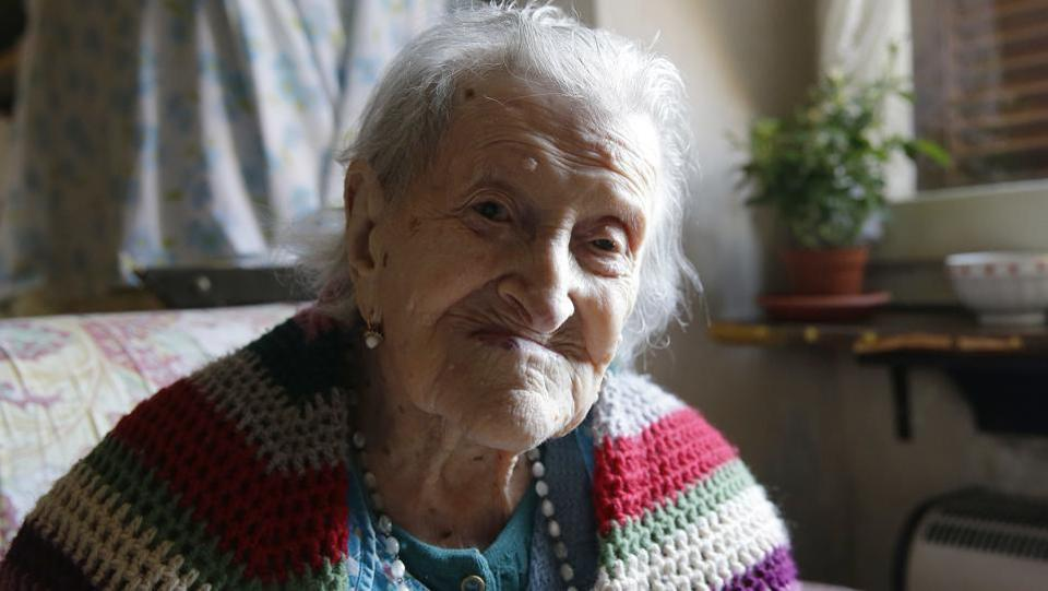 Morano, who lived 117 years and 137 days, was born on Nov. 29, 1899, four years before the Wright brothers first took to the air. Her life spanned three centuries, two World Wars and more than 90 Italian governments. (Antonio Calanni / AP File photo)