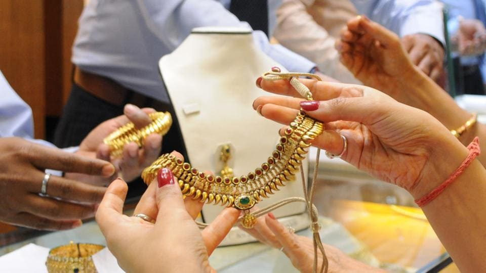 Jewellery worth over Rs9 lakh was allegedly stolen from two houses in Palam Vihar and Sector 10 in Gurgaon.