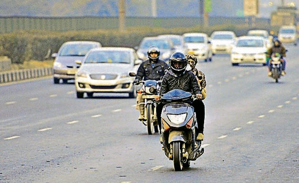 vehicle theft,Gurgoan,Hero Honda Splendor