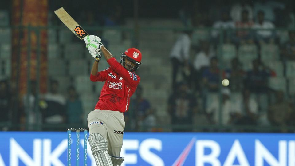 Axar Patel waged a lone battle, scoring a 29-ball 44, but  Kings XI Punjab needed more such contributions from other batsmen.  (BCCI)