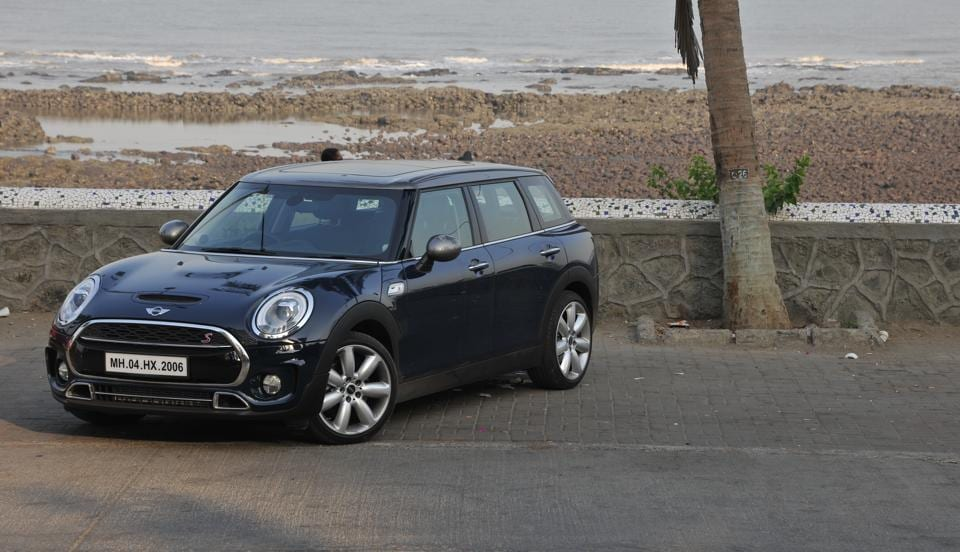 The stretched Mini retains the funky retro styling and the fun-to-drive engineering. The stretched Clubman however offers more room while not remaining mini really.