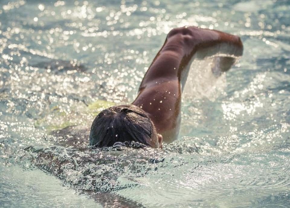 To aid recovery, go easy on your legs with low-intensity activities like swimming.