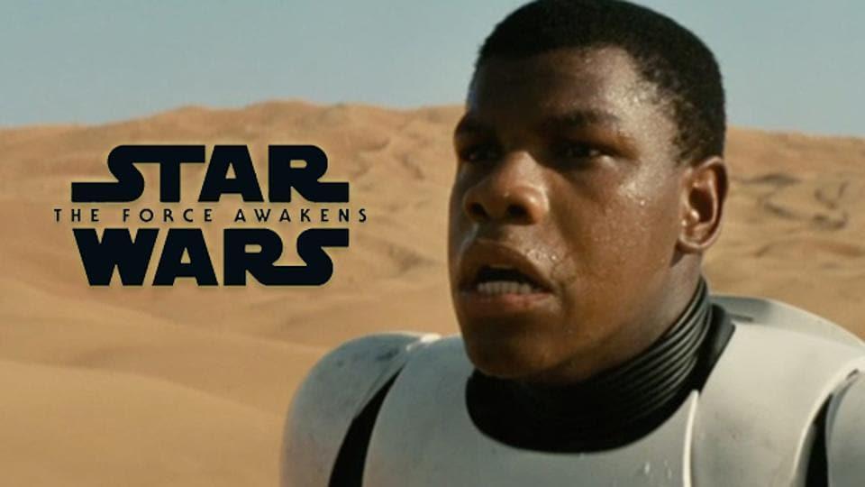 John Boyega plays Finn in StarWars.