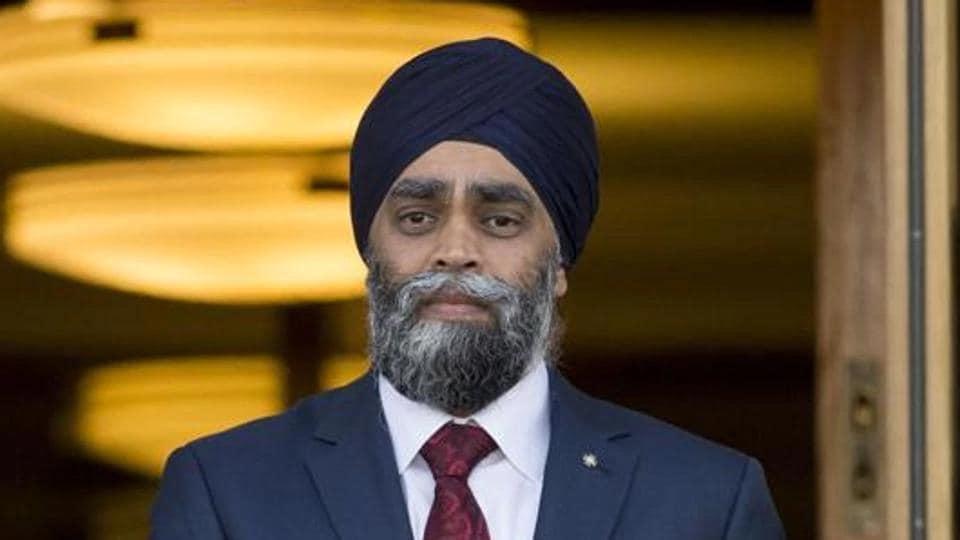 Harjit Singh Sajjan, Canada's minister of national defence