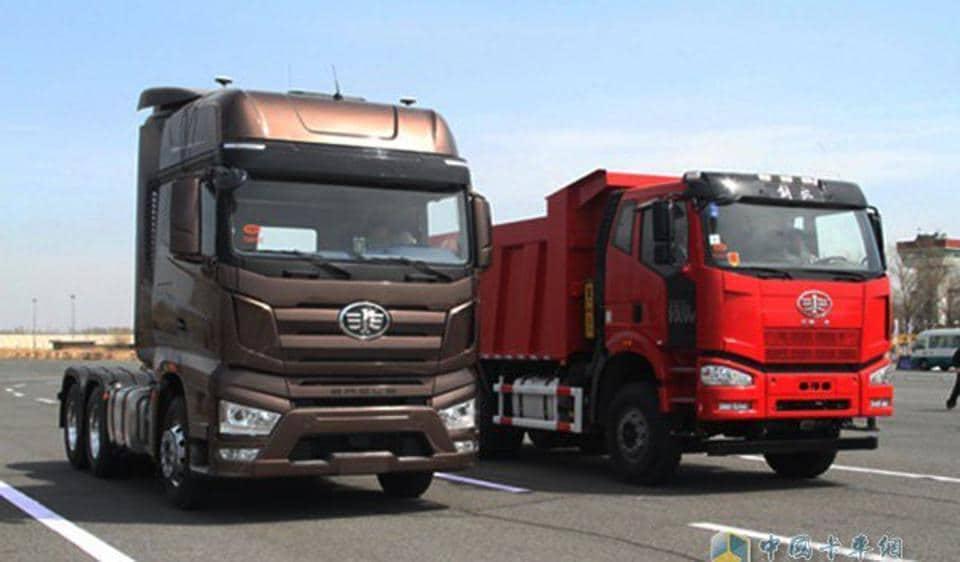 Self-driving trucks,FAW Tech Centre,FAW Jiefang