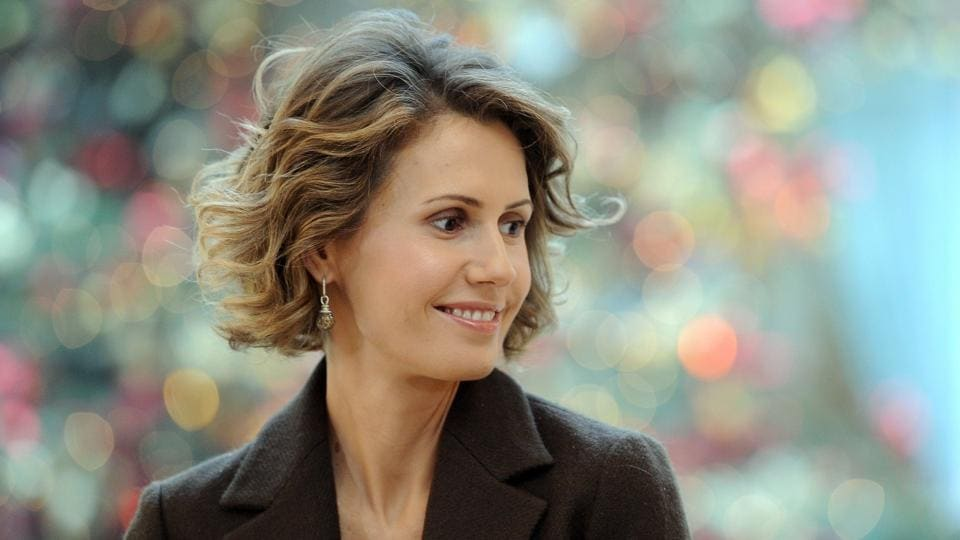 Asma al-Assad criticised the US missile strike on Syria, calling it 'an irresponsible act'.