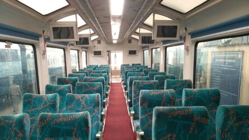 Vistadome coaches' features will enable tourists to enjoy scenic beauty along the journey.