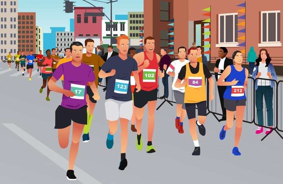Running a marathon can be a great opportunity to push back negative emotions, reflect, de-stress and plan ahead.