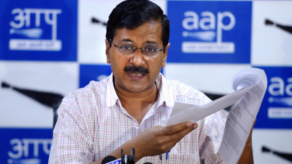 """Aam Aadmi Party convener and Delhi chief minister Arvind Kejriwal told reporters that the poll panel was using """"redundant"""" EVMs in the Delhi municipal elections that could be hacked """"even by a child""""."""