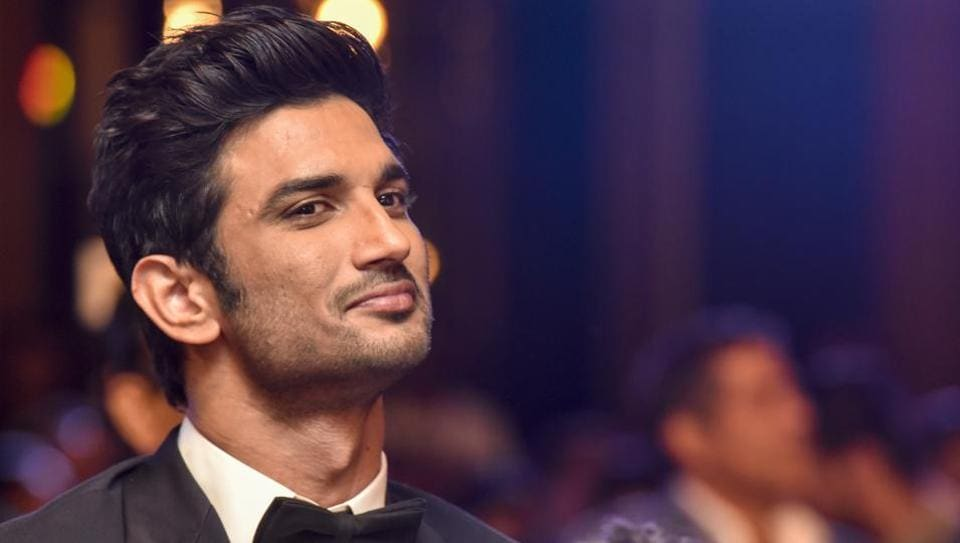 Sushant Singh Rajput during HT Most stylish awards in Mumbai on March 24, 2017. (Kunal Patil/HT Photo)