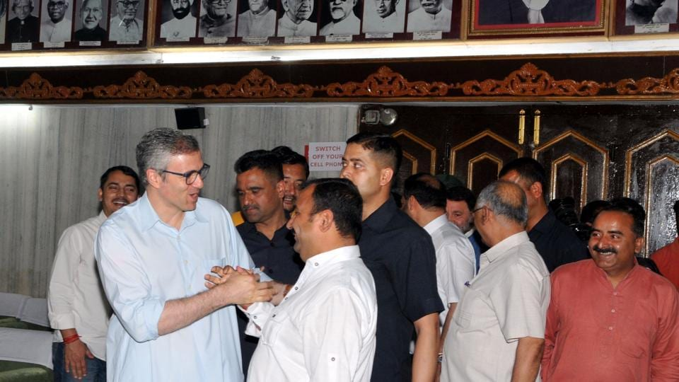 National Conference working president and Beerwah MLA, Omar Abdullah on Monday strongly endorsed his father's demand of imposing Governor's Rule in Jammu and Kashmir.